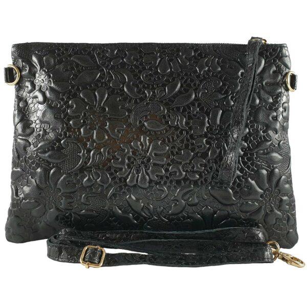 Fabiola geanta pentru dama din piele culoare neagra