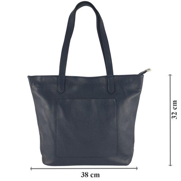 Geanta-shopper-din-piele-naturala-Mara-bleumarin