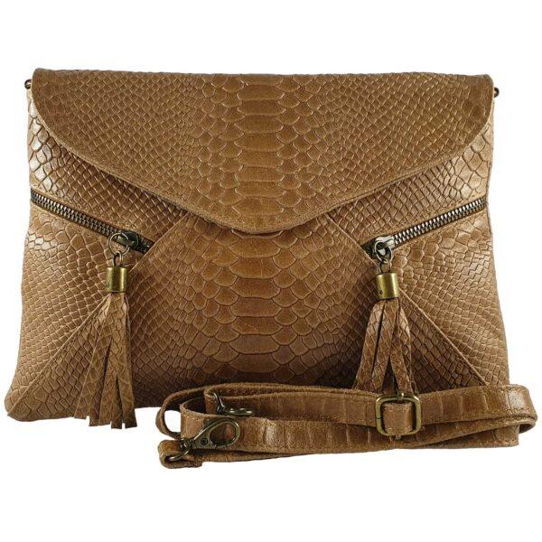 Lorena geanta din piele maro pentru dama accesorii