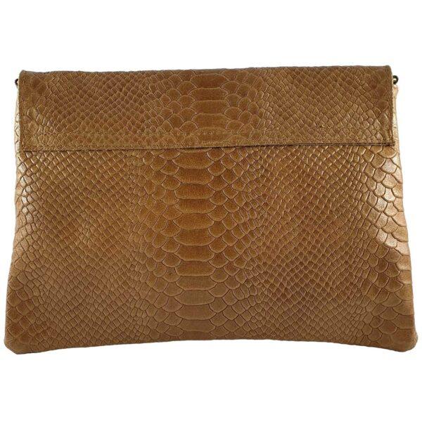 Lorena geanta din piele maro pentru dama