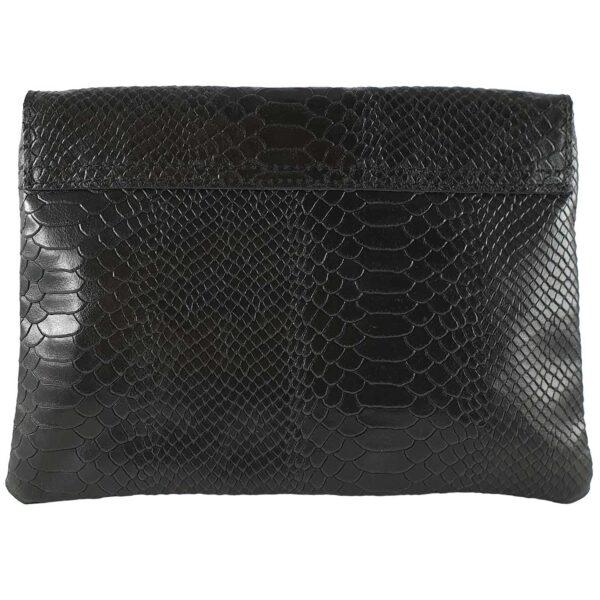 Lorena geanta din piele neagra pentru dama