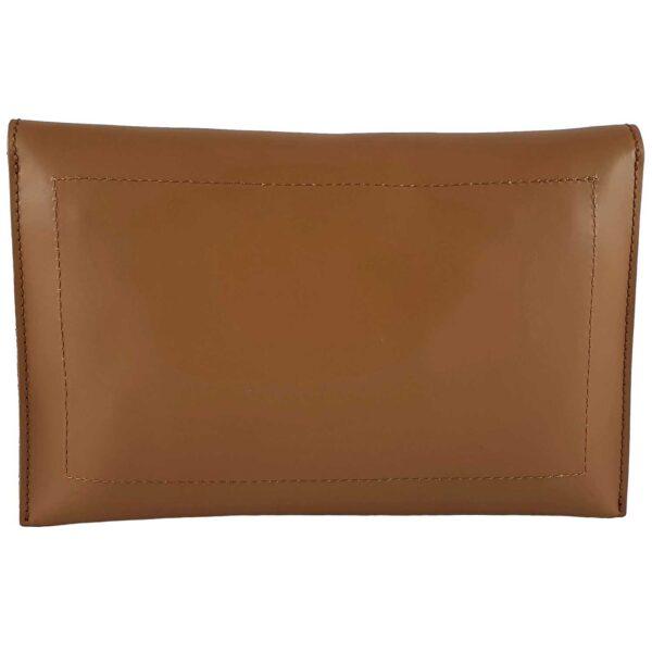 Sandra geanta din piele pentru doamne de culoare maro