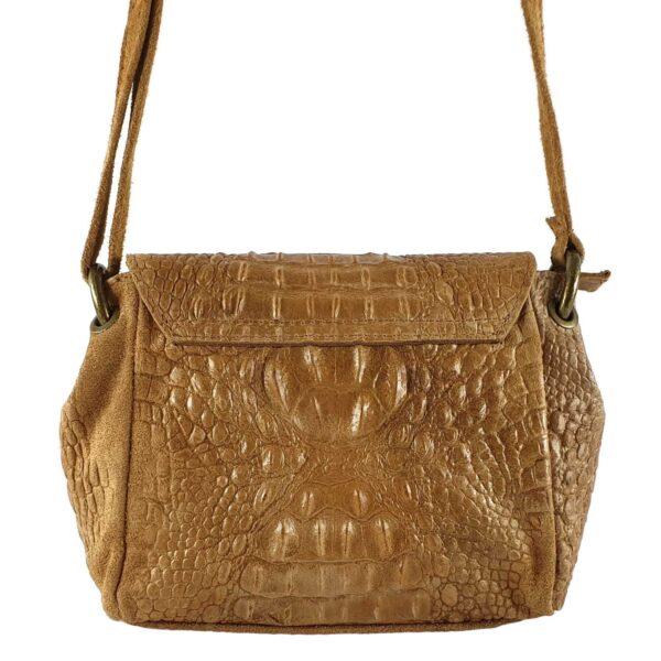 Tayra geanta din piele culoare maro
