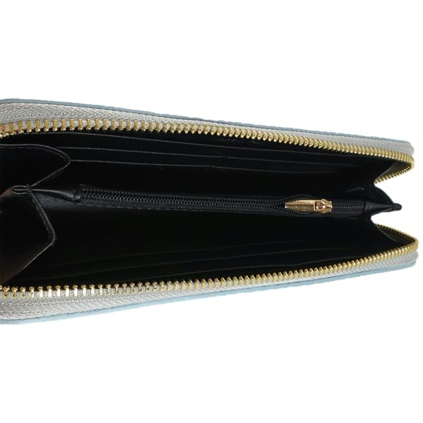 portofel din piele naturala gri deschis 4